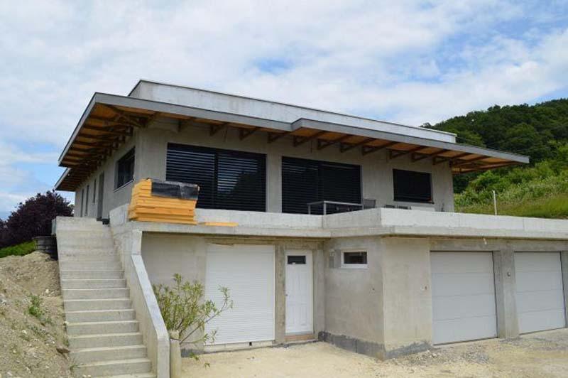 Maison d'architecte à Douvaine en Haute-Savoie (74)